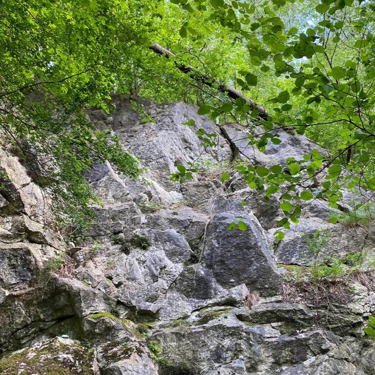 Felsen-zum-Klettern